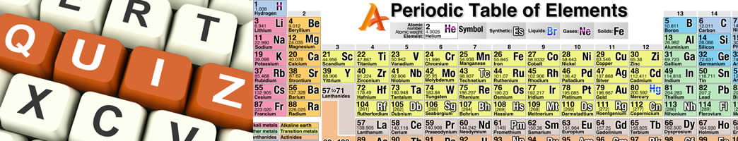 Test your knowledge of the chemical elements with ADDucation Free Online Quizzes