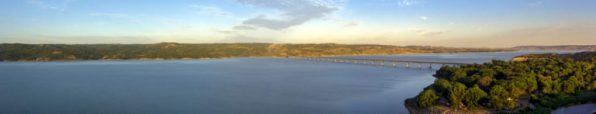 Missouri river, one of the longest rivers in USA
