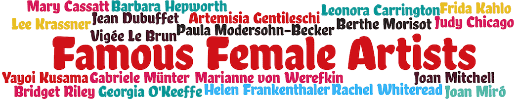 famous female artists