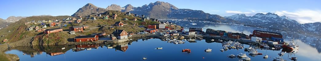 Greenland, one of the largest islands in the world + on earth