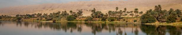 river Nile, one of the longest rivers in the world
