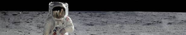 who walked on the moon