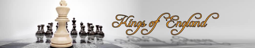 list of kings of England