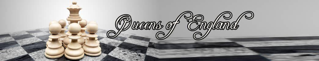 list of queens of England