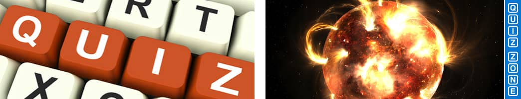 Amazing facts about the sun quiz