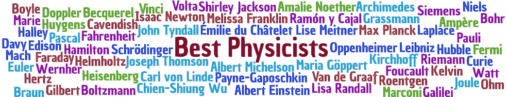 best physicists