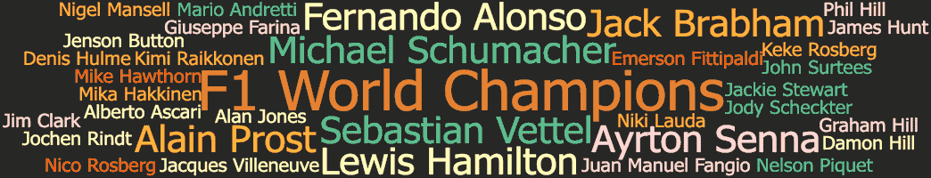 grand prix world champions